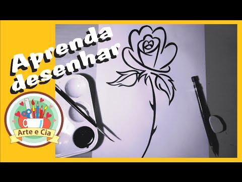 Como Desenhar Uma Rosa Tribal Passo A Passo Youtube