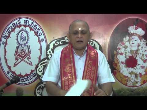 Mundakopanishad : Day 22 : 2nd Mundakam - 2nd Khandam - Mantram 5 6 : Sri Chalapathirao