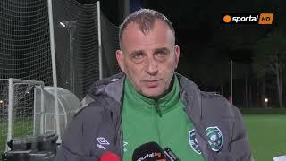 Антони Здравков: Грешките в защита не ме притесняват, защото са строго индивидуални