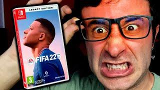 🤬 VUELVO A ESTAR **MUY ENFADADO** CON FIFA 22 PARA NINTENDO SWITCH (Legacy Edition)