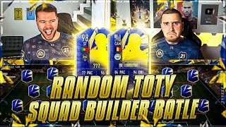 FIFA 21: RANDOM TOTY SQUAD BUILDER BATTLE 🔥🔥