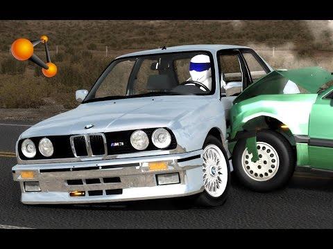 BeamNG.Drive Mod : BMW M3 E30 & Stig Driver (Crash Test)