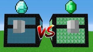 ELMAS VS ZÜMRÜT SANDIK ŞANS BLOKLARI 😱 - Minecraft