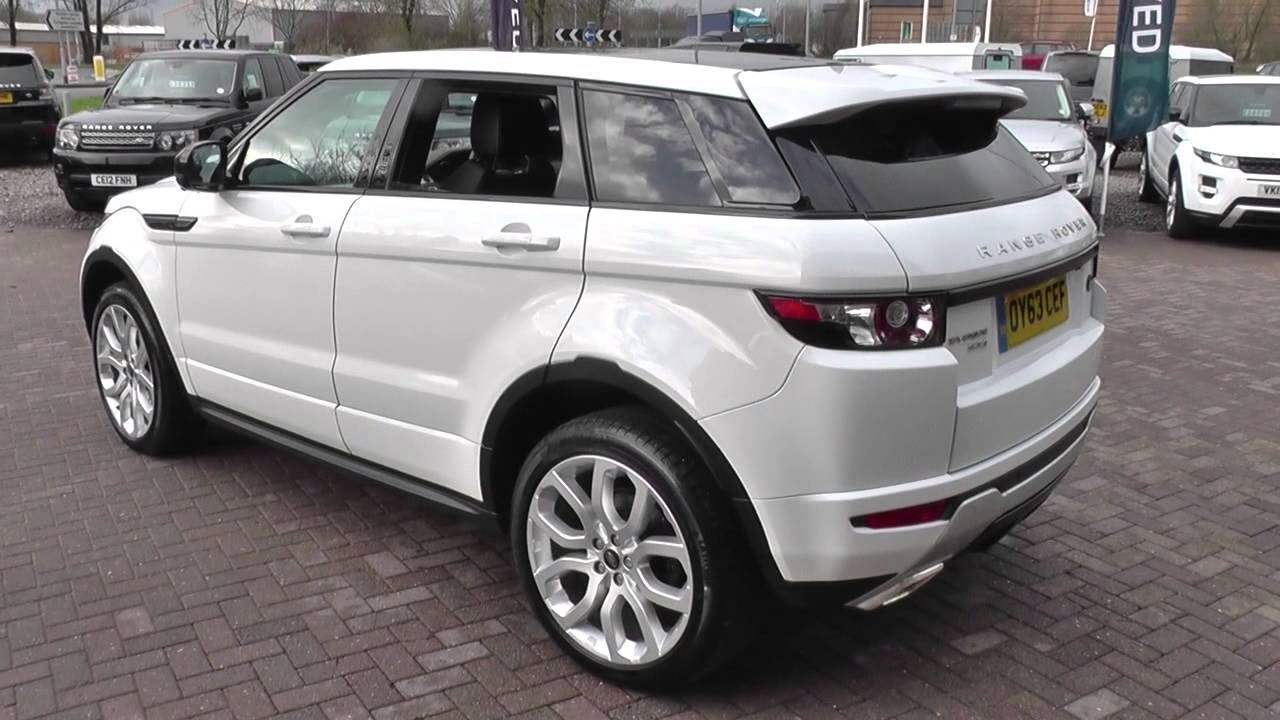 land rover range rover evoque 2 2 sd4 dynamic 5dr auto lux pack u9406 youtube. Black Bedroom Furniture Sets. Home Design Ideas
