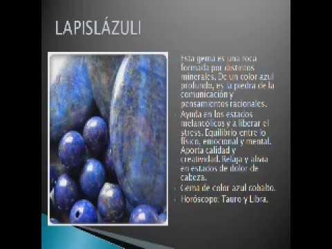 Lapisl zuli significado de la piedra youtube for Significado de las piedras
