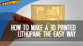 Easy Lithophane Creation with Photo To Mesh 2D Photos to 3D Meshes 3DBurn Ep 5