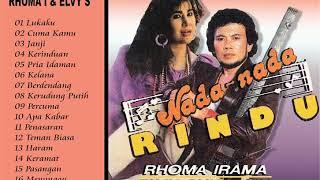 RHOMA IRAMA Feat RITA SUGIARTO - Tembang Romantik FULL ALBUM
