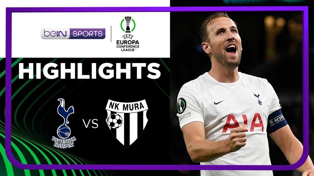 Tottenham 5-1 Mura | Europa Conference League 21/22 Match Highlights