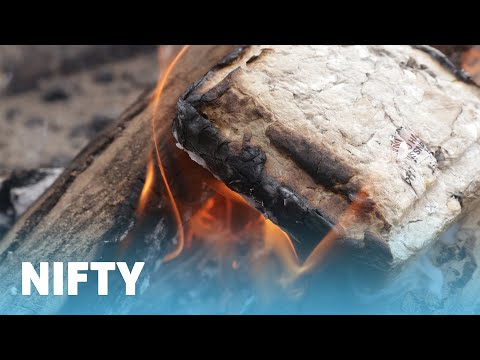 Recycled Paper Fire Logs