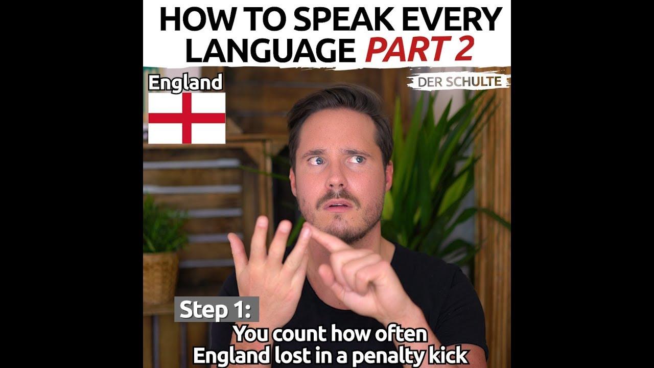 Hogyan tanulj meg új nyelveket percek alatt? Vicces Youtube-videó!