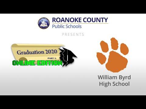 William Byrd High School Graduation 2020