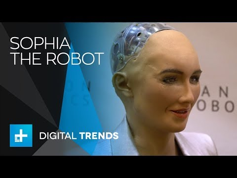 Robot Sophia & Dr. Hanson Interview at CES 2018