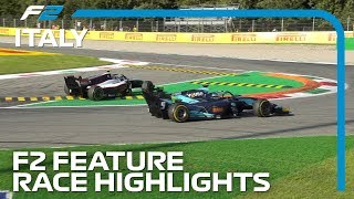 Formula 2 Feature Race Highlights | 2019 Italian Grand Prix