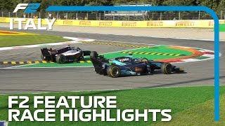 Formula 2 Feature Race Highlights | 2019 Italian Grand Prix