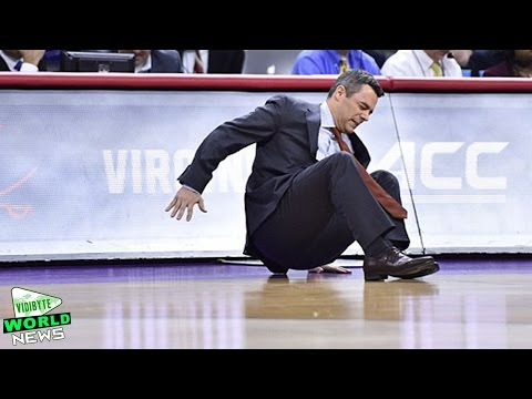 Virginia coach Tony Bennett Collapses during NCAA Tournament