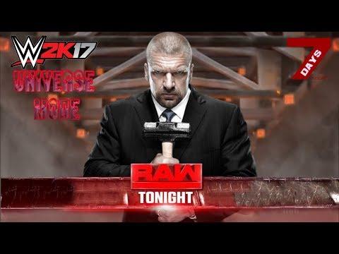 WWE 2K17 Universe Mode: WWE RAW   The Game Returns [San Diego, CA]