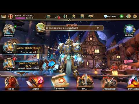 Preview My Account Dungeon Hunter 5
