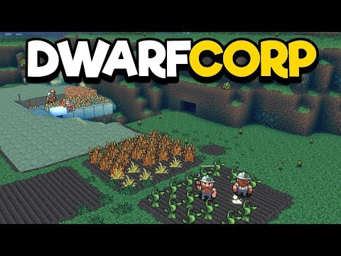 Dwarfcorp Gameplay Impressions - Rimworld Meets Dwarf Fortress!