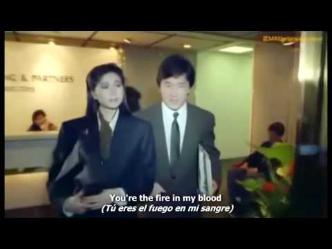 """""""When We Touch"""" Theme from """"Dragons Forever"""" (1988) performed by Anita Mui & Jackie Chan"""