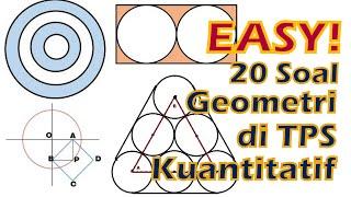 Tps Utbk 2020 - Konsep Geometri Dasar Dan Pembahasan 20 Soal