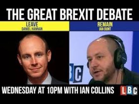 Brexit fallout: Ian Dunt vs Dan Hannan full  LBC debate fact checked