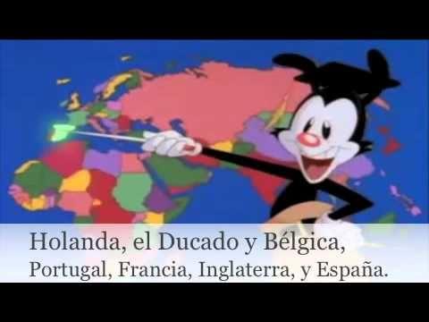 Los países del mundo (con letra)