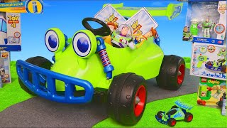 Toy Story Cars: Buzz Lightyear Superhero Toys & Ride On Vehicles Surprise for Kids