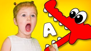 ABC Монстро Алфавит Буквы монстры Учим английский алфавит весело с Ба Би Бу