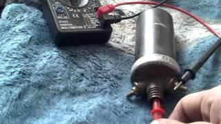 видео как проверить катушку зажигания тестером