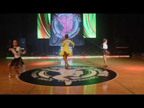 Izabele Blazeviciute/Eva Monstavice/Guoda Stonkute   Salsa Solo Children   LT Cup'16