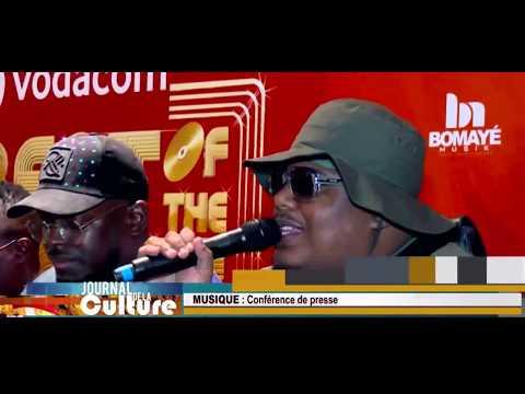 Bomaye Musik, la conference de presse à Kinshasa