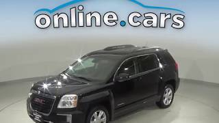 C10711TA Used 2017 GMC Terrain SLE-2 FWD 4D Sport Utility Black Test Drive, Review, For Sale