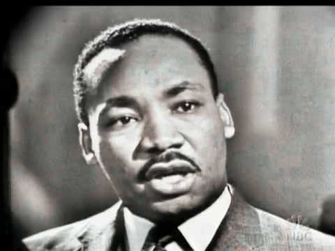 Martin Luther King Jr (1) Anti-Violent Actions Interview 1957
