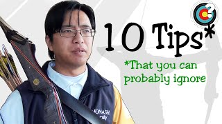 Archery Tips | 10 Common Tips (That You Can Probably Ignore)