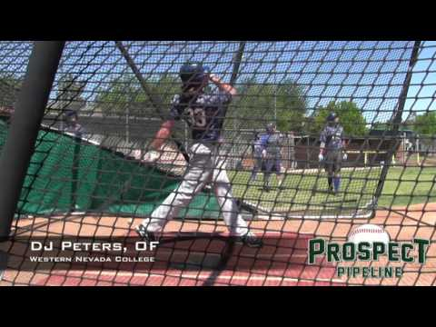 DJ Peters Prospect Video, OF, Western Nevada College