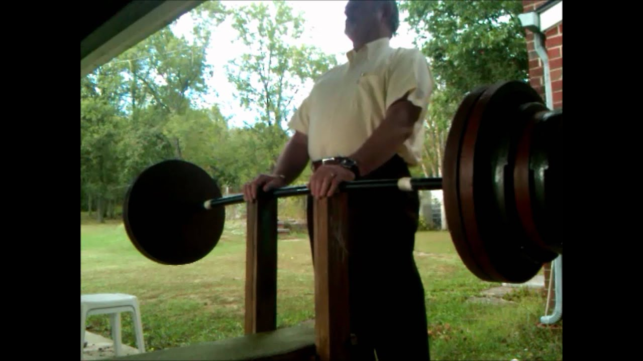 Extreme Bench Press Program Home Made Wooden Bench Youtube