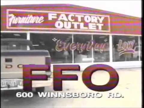 ffo  furniture factory outlet  ad 1997 mornoe youtube