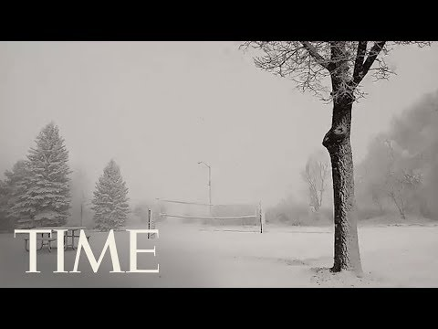 A Bomb Cyclone Storm Is Hammering The Central U.S., Disrupting Travel | TIME