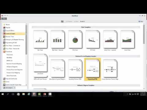 Smartdraw And Defining The Business Process