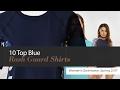 10 Top Blue Rash Guard Shirts Women's Swimwear, Spring 2017