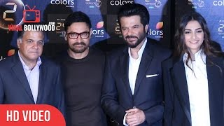 Aamir khan At 24 Season - 2 Launch | Anil kapoor, Sonam Kapoor | Colors Tv