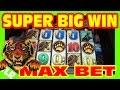 WILD WAYS - MAX BET SUPER BIG WIN  - Slot Machine Bonus RETRIGGER
