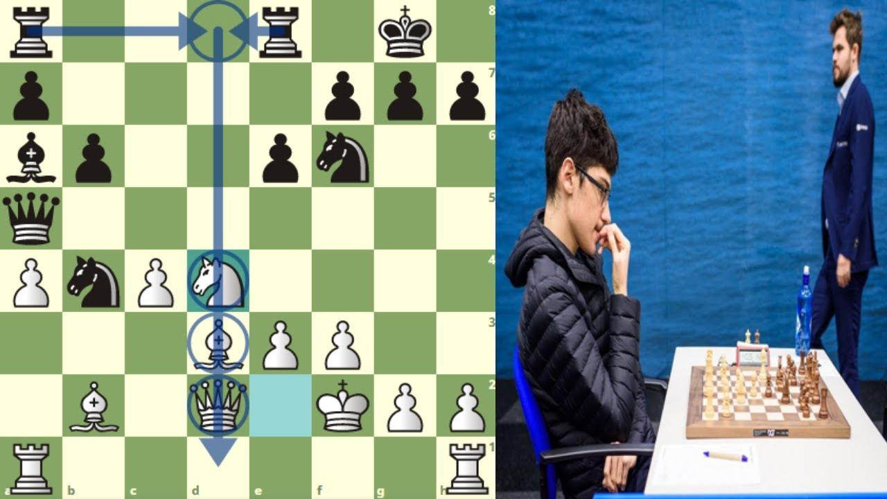 AÚN ERES MUY TIERNO PARA MI: Firouzja vs Carlsen (Saint Louis, Rápidas, 2020)