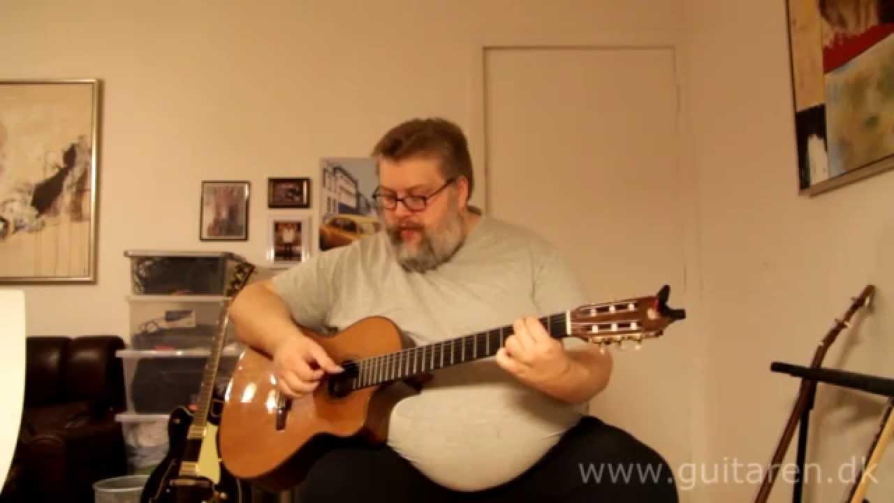 Forenklet udgave af hurtigt fingerspil på guitar tutorial (lektion)  lær at spille fingerspil