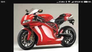 мотоциклы дукати [ motorcycles Ducati ] photo-collage