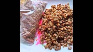 Холодные закуски мясные:Рулетики из ветчины с овощами и гречкой за 20 минут