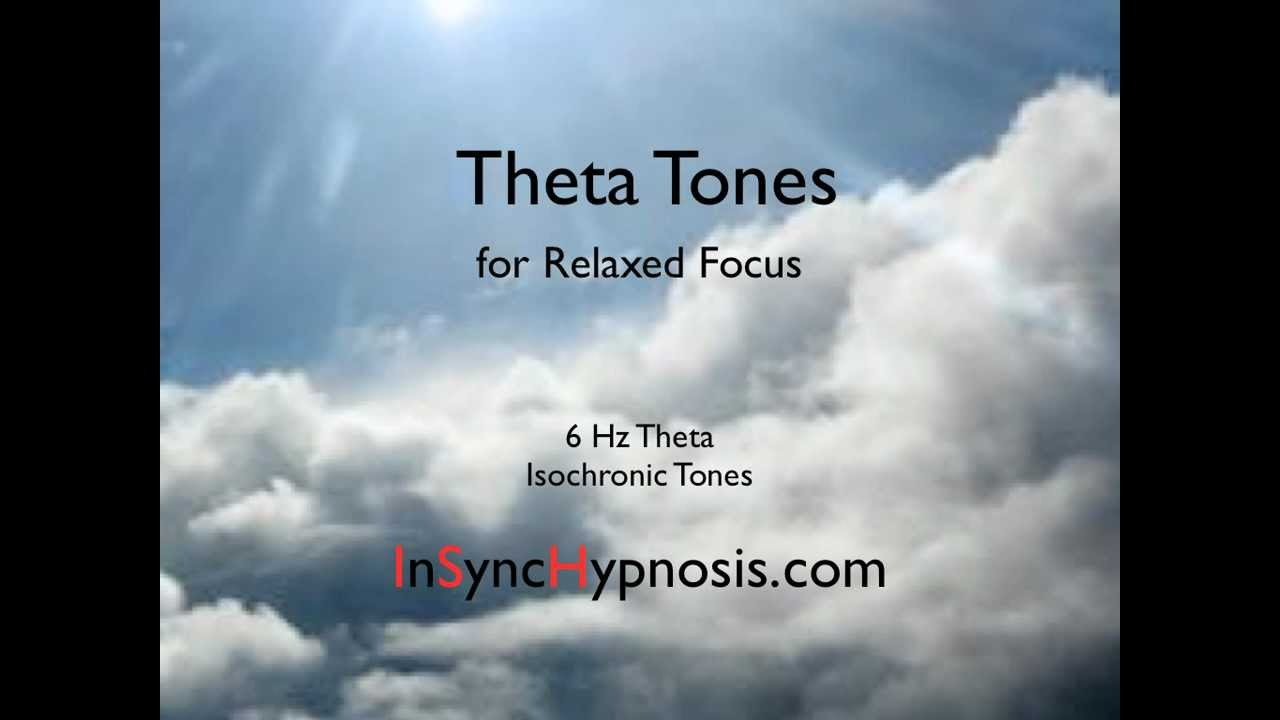 Theta Tones for Relaxed Focus--Meditation Music