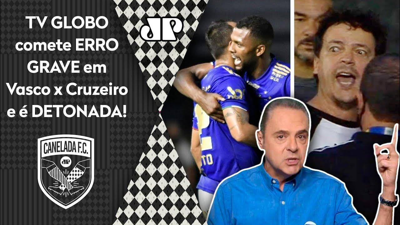 """Download """"Foi UMA VERGONHA o que a TV GLOBO fez em Vasco x Cruzeiro! QUE PAPELÃO!"""" OLHA esse DESABAFO!"""