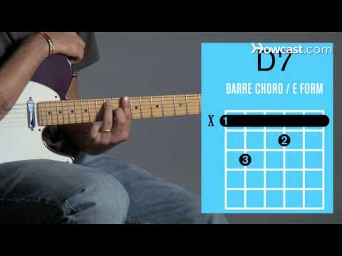How to Play a D7 Barre Chord | Guitar Lessons