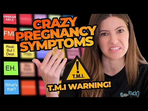 THE ULTIMATE RANKING OF PREGNANCY SYMPTOMS